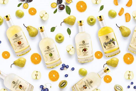 Портфель компанії поповнився новим преміальним продуктом – грузинською фруктовою горілкою Anaseuli.