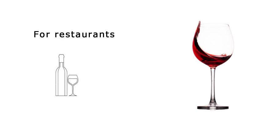 For restaurants