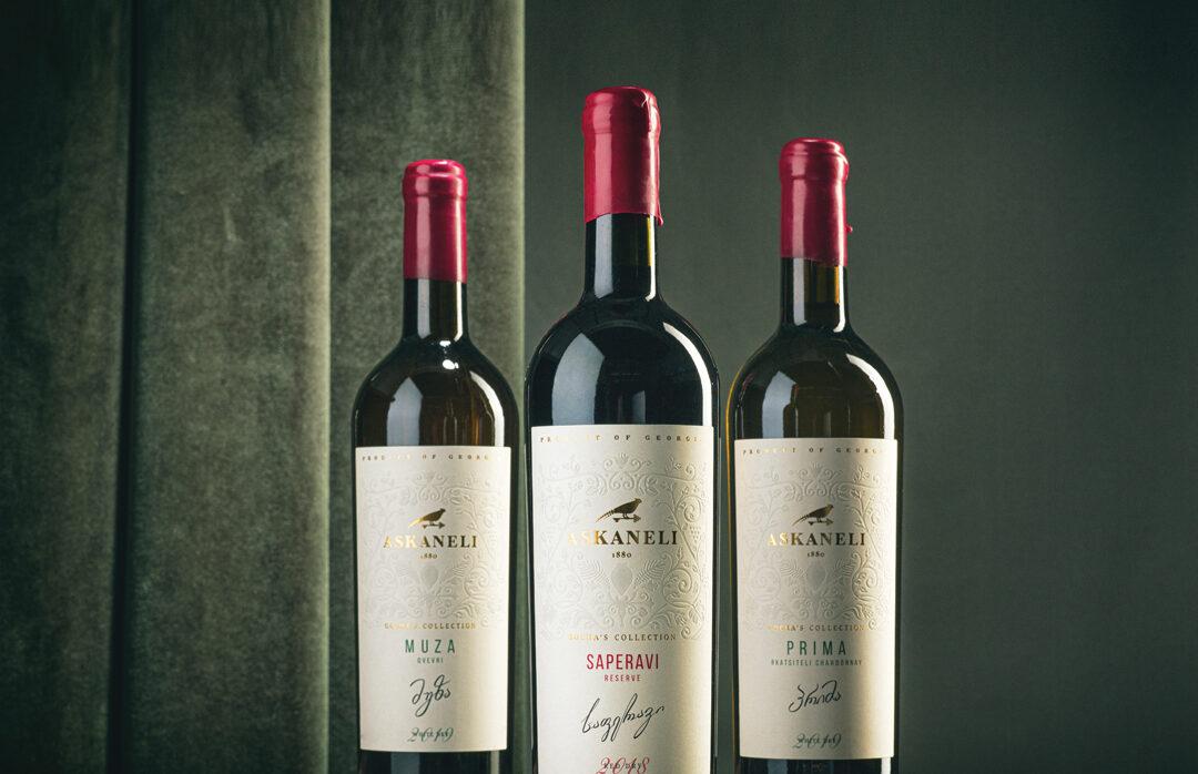 Світове визнання вин бренду Askaneli на міжнародних конкурсах